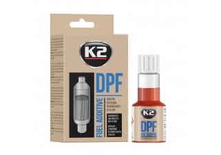 K2 DPF Cleaner - regeneruje filter pevných častí 50 ML.jpg