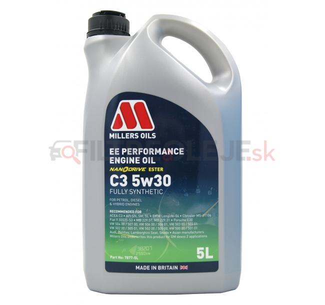 MILLERS OILS EE PERFORMANCE 5w30 C3 5L.jpg