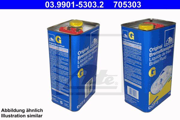 ATE brzdová kvapalina G DOT 3 5L.jpeg
