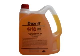DEXOLL Antifreeze G10 žltý 4L.png
